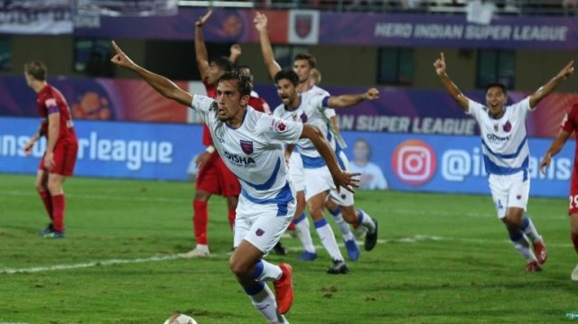 Martin Perez scored in the 72nd minute to hand all three points to Odisha FC in the Hero ISL on Friday (Courtesy ISL)