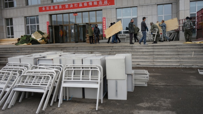 Russian border becomes China's frontline in fight against second coronavirus wave