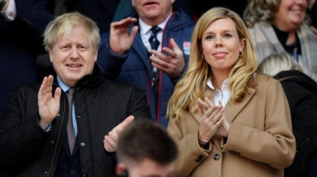 UK PM Boris Johnson's pregnant fiance says she is 'on the mend' from Covid-19