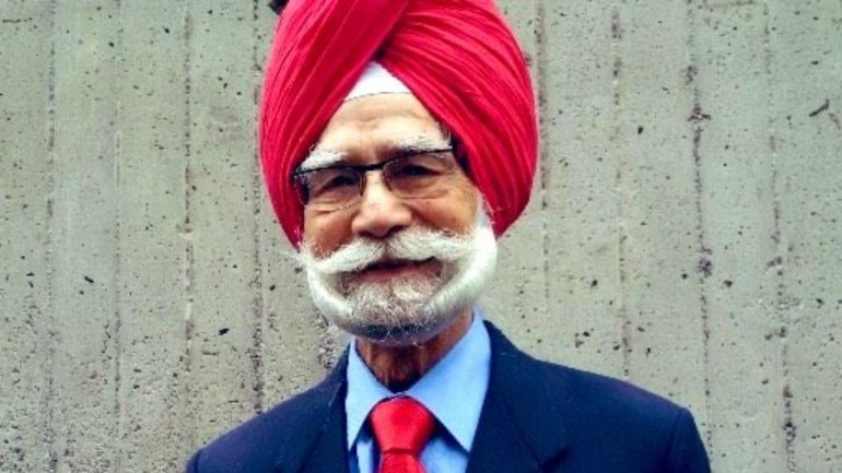 Hockey legend Balbir Singh Sr passed away on Monday (Photo tweeted by Ravi Shastri)