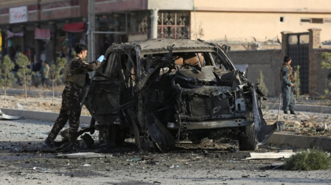 Truck bomb in eastern Afghan city kills five, Taliban claim responsibility
