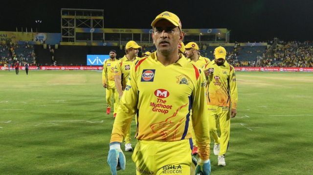 MS Dhoni has led CSK to 3 IPL triumphs (Courtesy by BCCI)