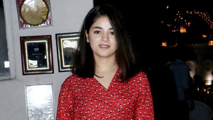 Why does Zaira Wasim want fan pages to take down her pics from social  media? - Movies News