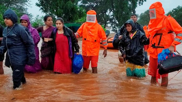 136 dead, over 84,000 evacuated as rains batter Maharashtra; IMD issues red alert for 6 districts - India News