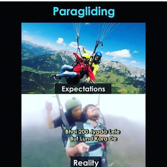 Viral Paraglider Vipin Sahu Is The Latest Meme Trending Online