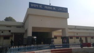 A station called Prayag Junction has always existed.
