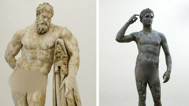 There S Something Weird About All The Ancient Greek Statues Have You Noticed It Yet