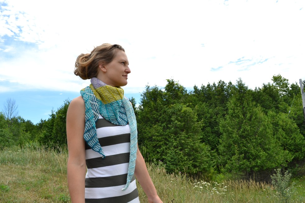 Assymetrical Shawls One and Two 2016-07-22 036