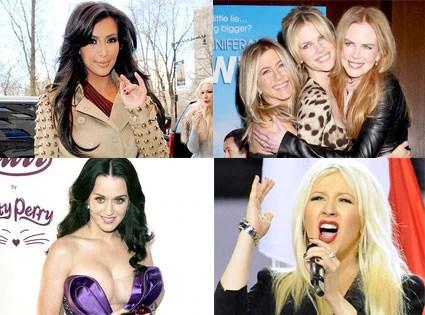 A Jen Aniston Sandwich Kim Kardashian