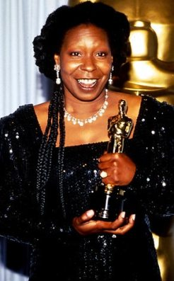 Image result for whoopi goldberg and oscar