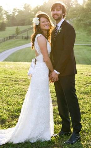 Kelli Cashiola Amp Dave Haywood From Celebrity Weddings E