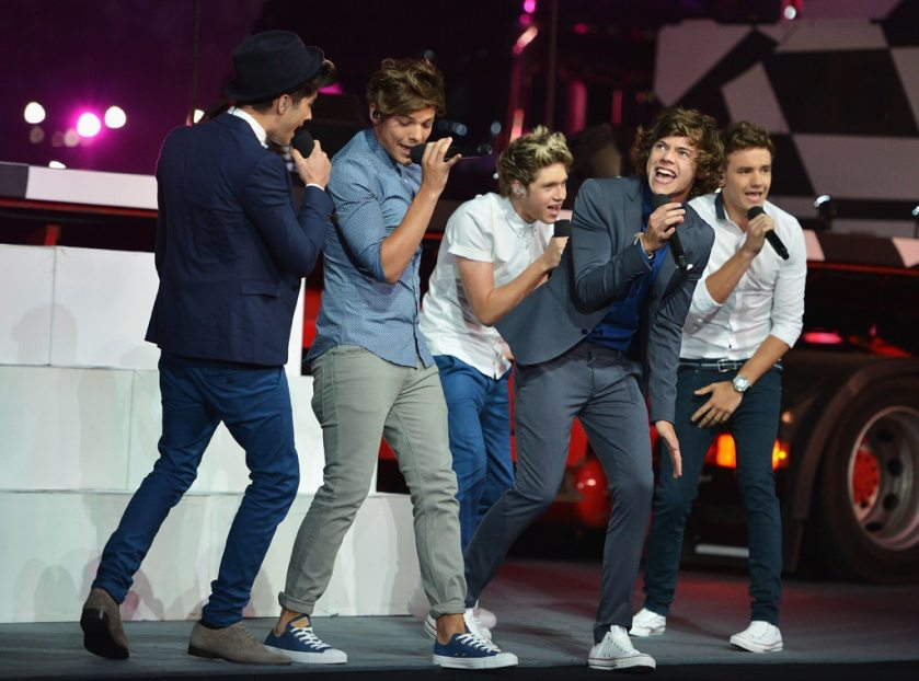 Zayn Malik, Louis Tomlinson, Niall Horan, Harry Styles, Liam Payne, One Direction