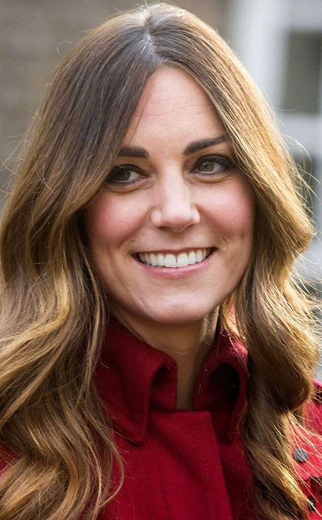 Kate Middleton Shows Gray Roots Still Has Flawless