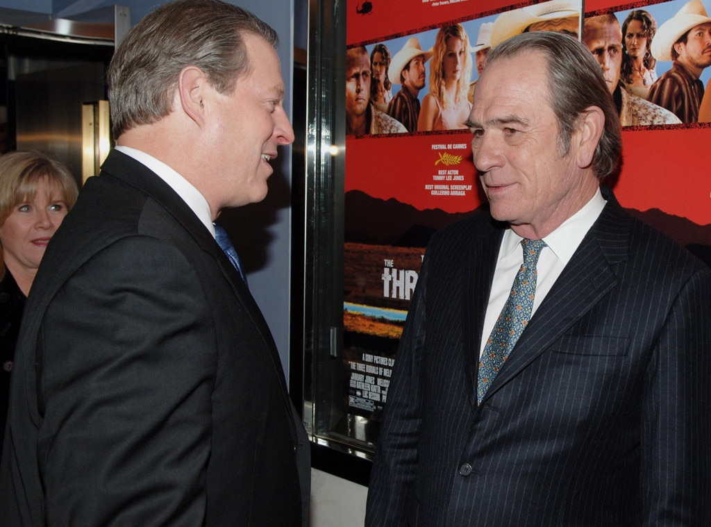 Image result for tommy lee jones, al gore