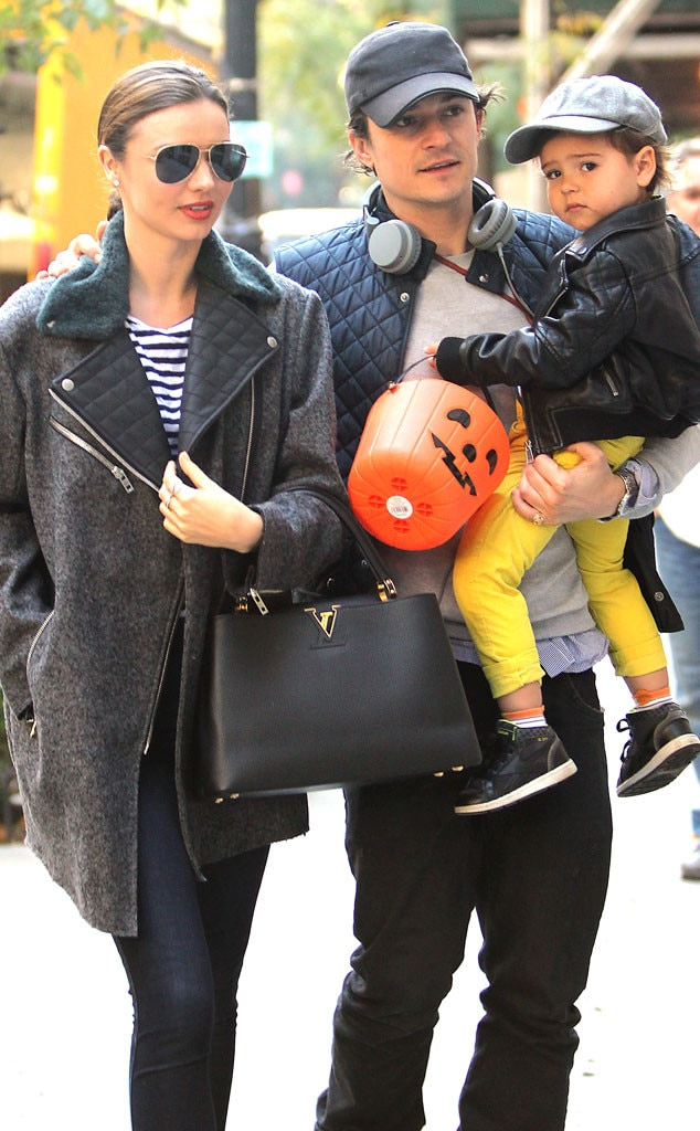 Miranda Kerr And Orlando Bloom Son Flynn Have Great