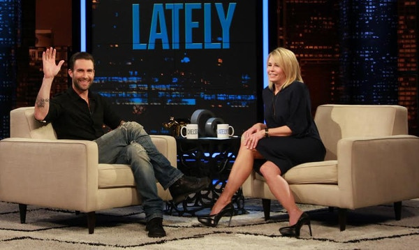 Adam Levine From Chelsea Lately Weekly Round-Up 3/10