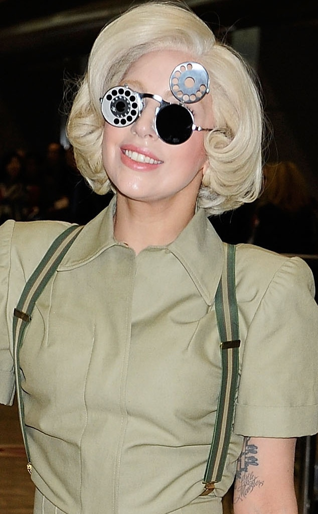 The Rotary Dial From Lady Gaga S Crazy Eyewear