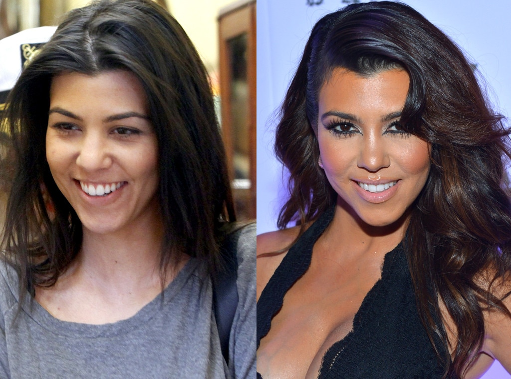 Kourtney Kardashian From Kardashians Without Makeup