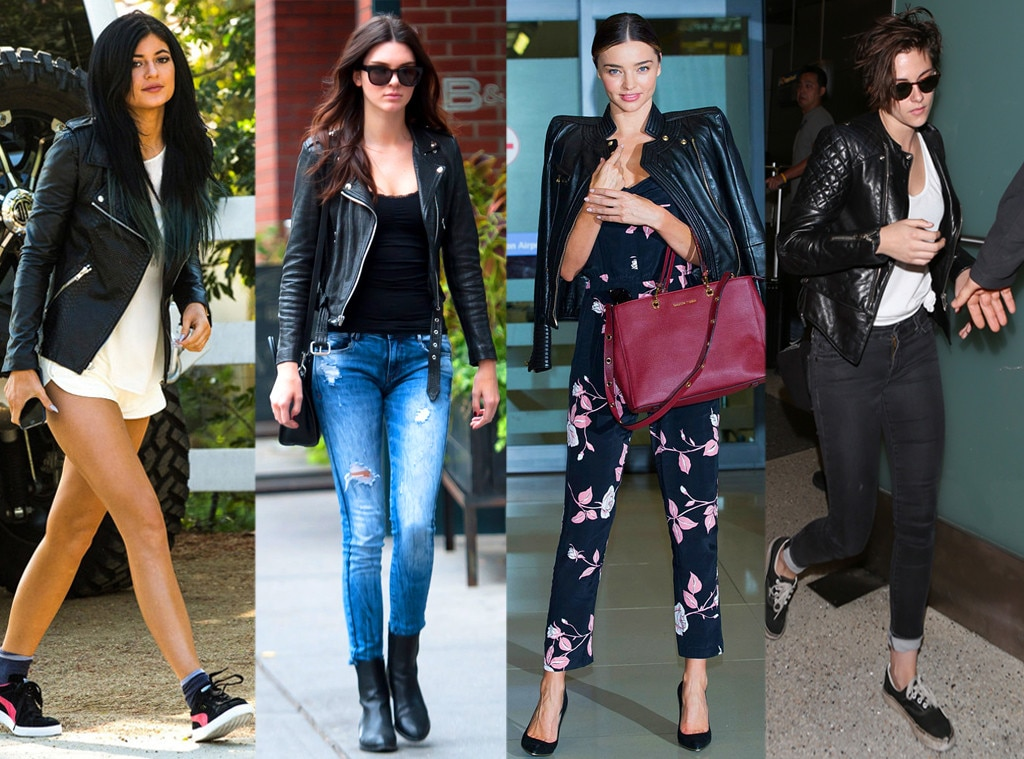 Image result for leather jackets for women trend