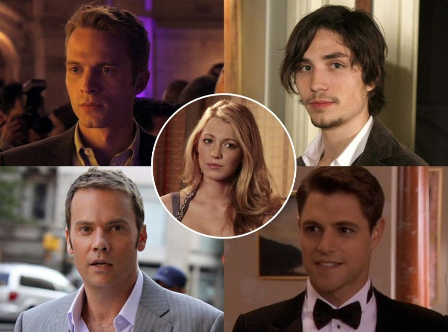 Gossip Girl Couples, Blake Lively, David Call, John Patrick Amedori, Barry Watson, Sam Page