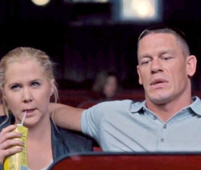 Amy Schumer Talks Trainwreck Sex With Huge John Cena Was That His Real Penis