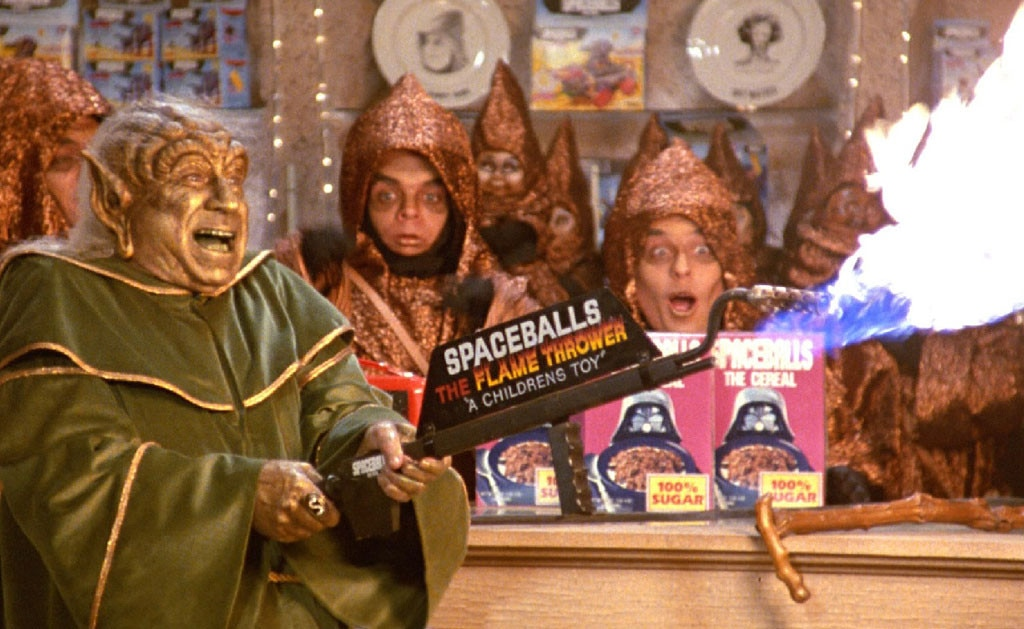 Image result for merchandising spaceballs