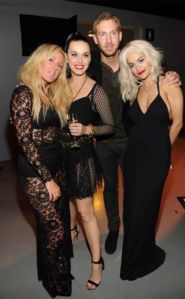 Ellie Goulding, Katy Perry, Calvin Harris, Rita Ora
