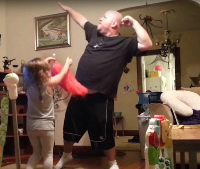 Dad Hidden Camera Dance Moves