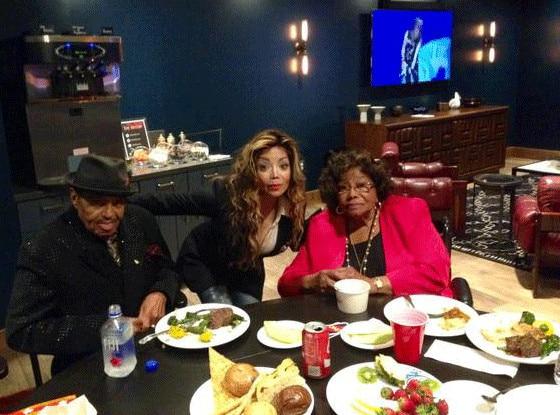 LaToya Jackson, Katherine Jackson, Joe Jackson