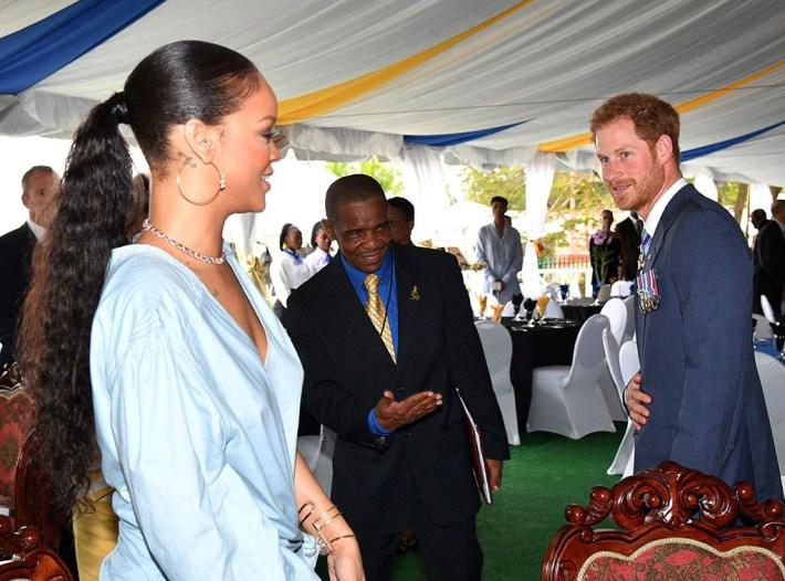Rihanna, Prince Harry, Caribbean