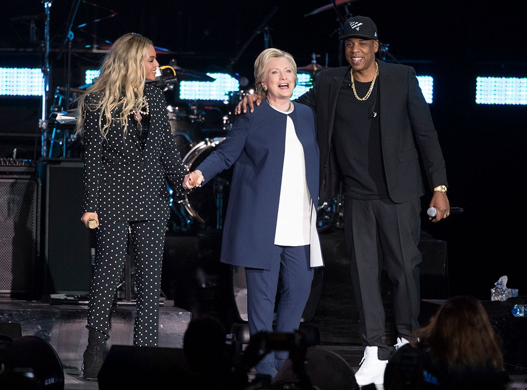 Image result for beyonce hillary clinton