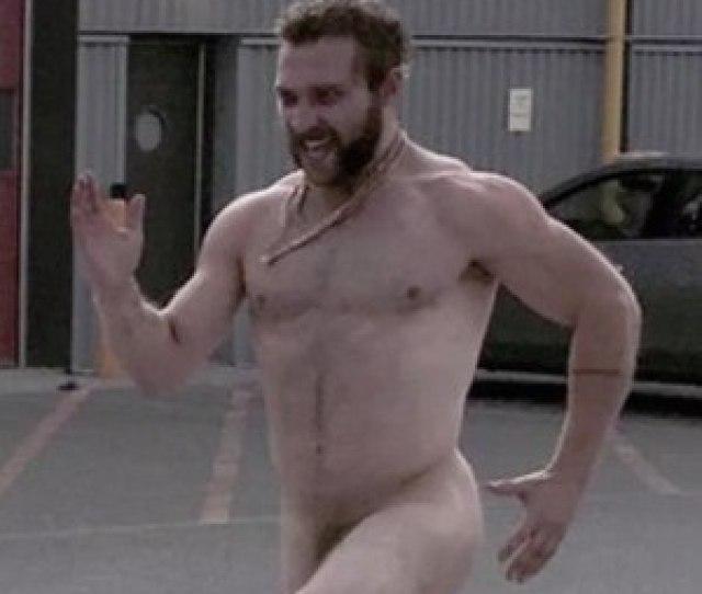 Naked Jai Courtney Chases Director On Set E News