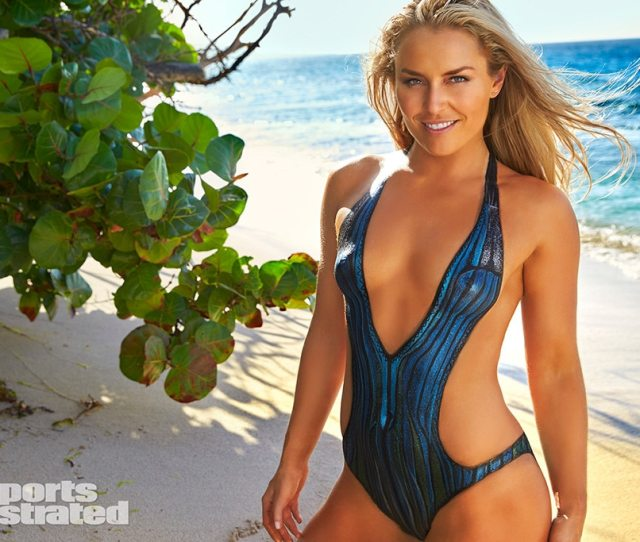 Lindsey Vonn Is Totally Naked Wearing Only Body Paint In Sports Illustrateds Swimsuit Edition