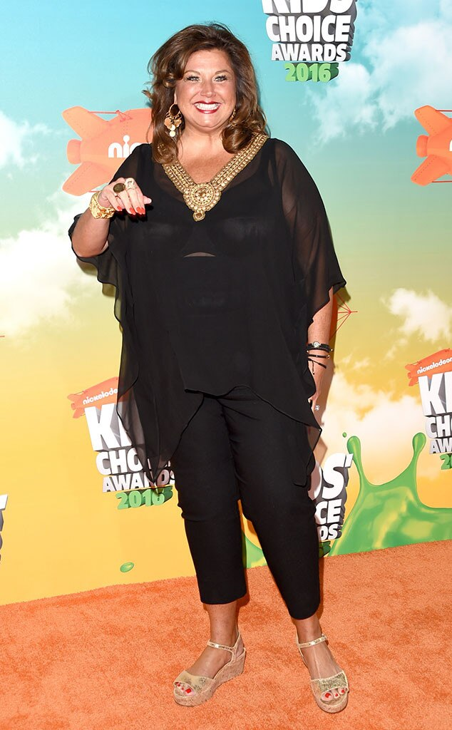 Abby Lee Miller, 2016 Kids' Choice Awards