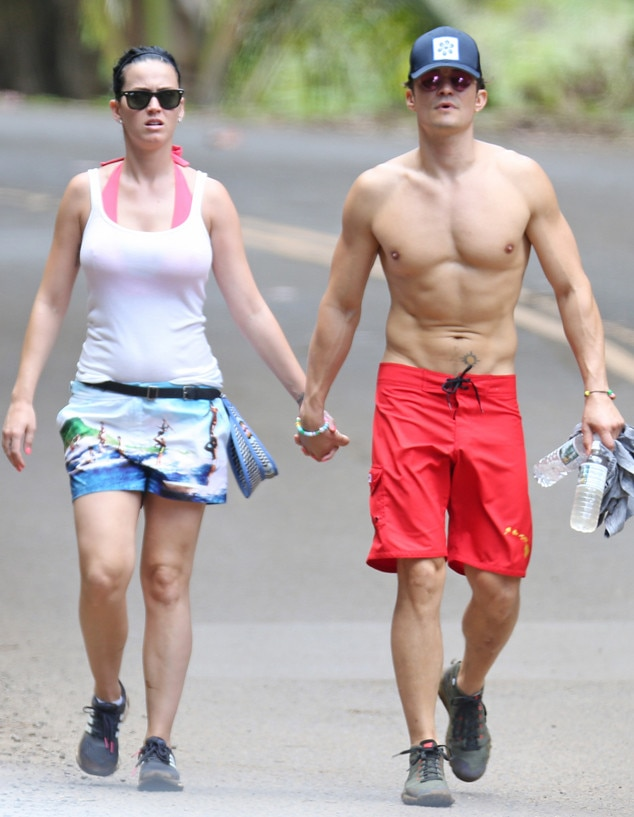 Katy Perry, Orlando Bloom, Favorite Celebrity Vacation Spots
