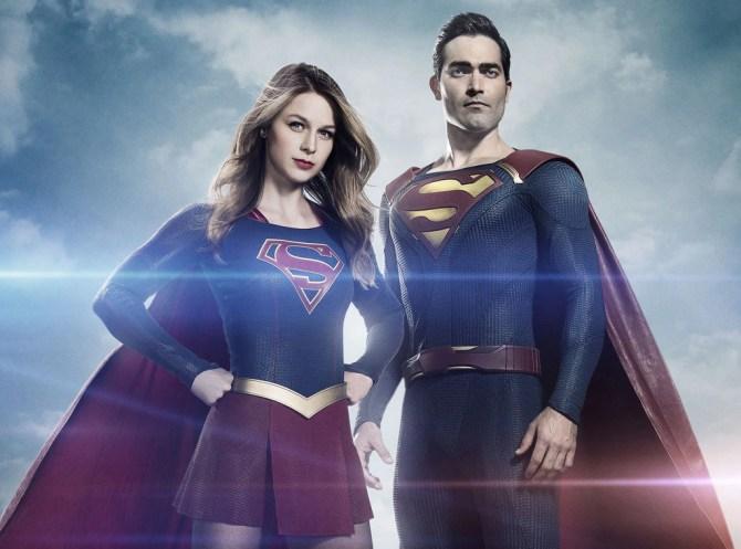 Supergirl, Melissa Benoist, Tyler Hoechlin
