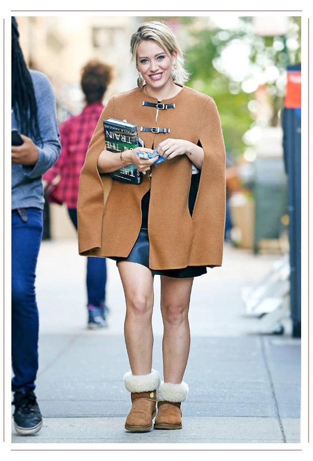 ESC: Hilary Duff, Ugg Boots