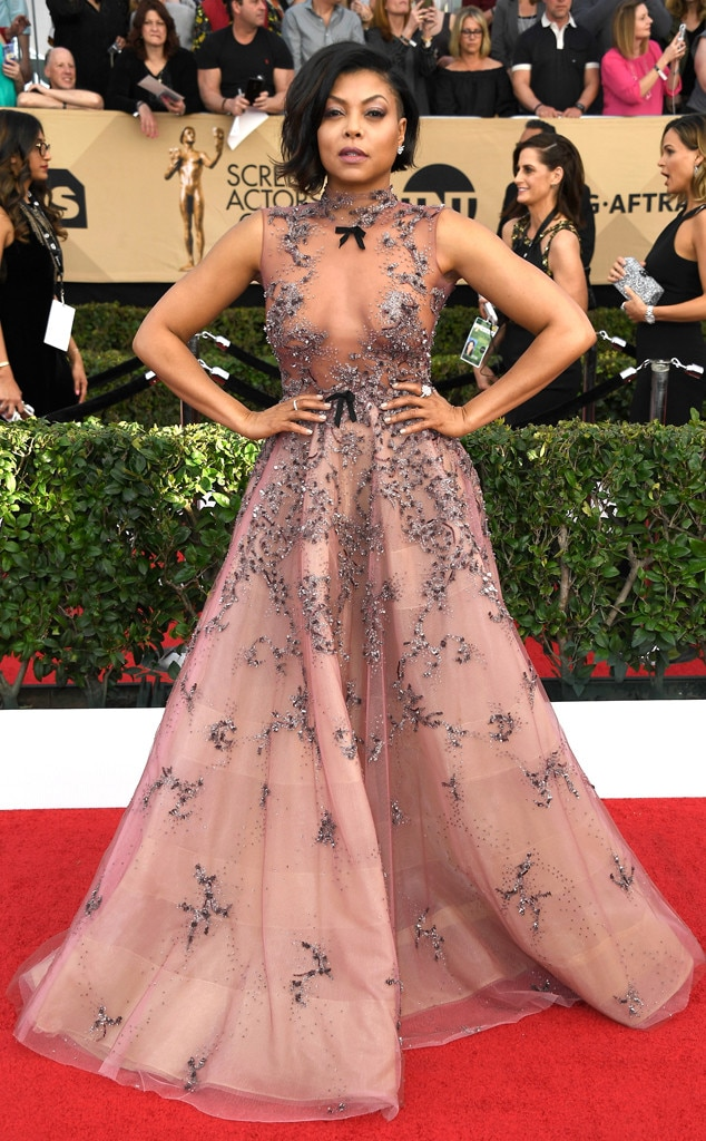 Image result for taraji p henson SAG awards 2017