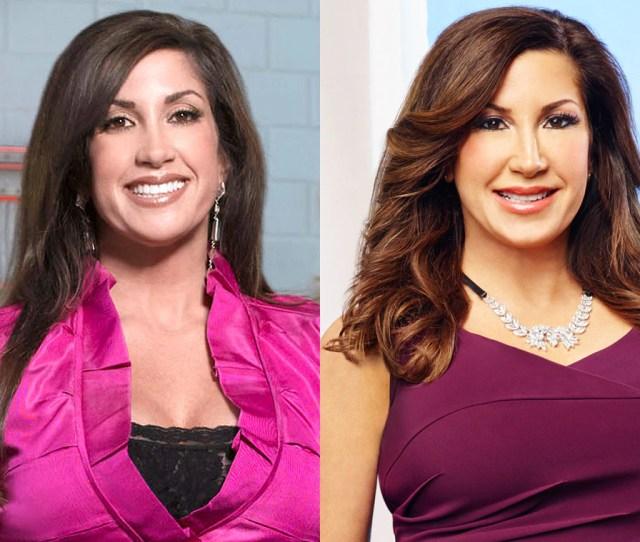 Jacqueline Laurita Real Housewives Of New Jersey Season 1 Vs Season 7