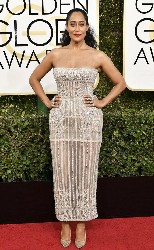 2017 Golden Globes Red Carpet Arrivals Tracee Ellis Ross, 2017 Golden Globes, Arrivals