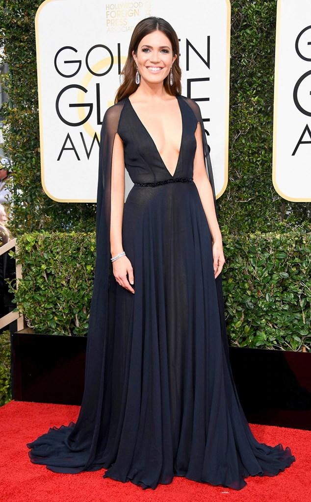 2017 Golden Globes' Sexiest Trends Mandy Moore, 2017 Golden Globes, Arrivals
