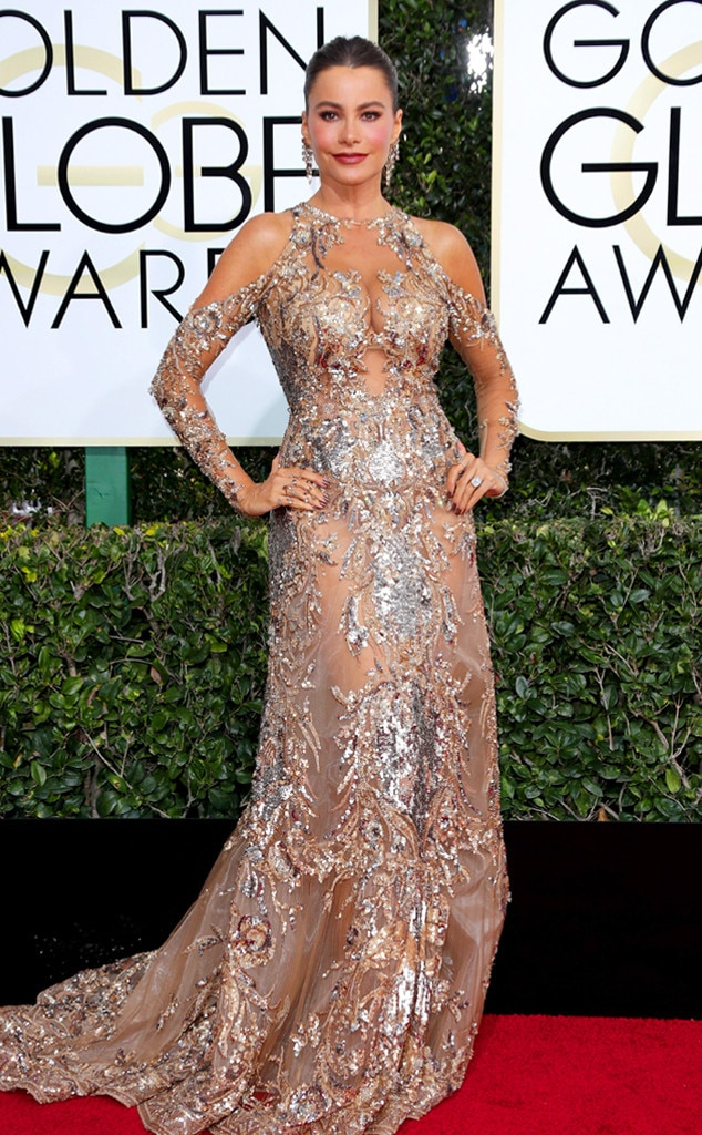 2017 Golden Globes Red Carpet Arrivals Sofia Vergara, 2017 Golden Globes, Arrivals