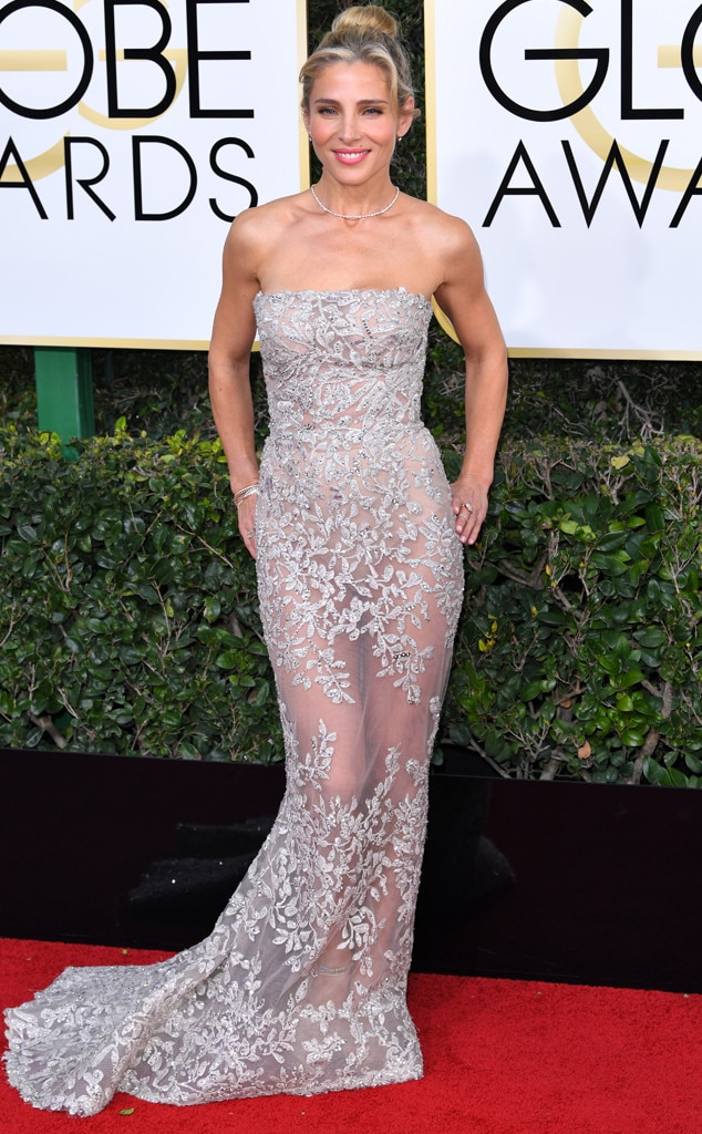 2017 Golden Globes Red Carpet Arrivals Elsa Pataky, 2017 Golden Globes, Arrivals