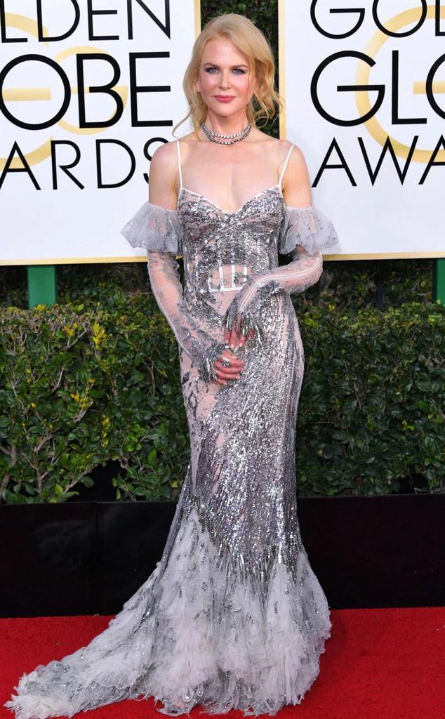 2017 Golden Globes Red Carpet Arrivals Nicole Kidman, 2017 Golden Globes, Arrivals