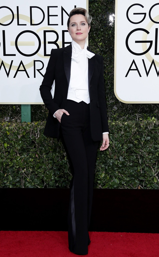 Image result for evan rachel wood golden globes