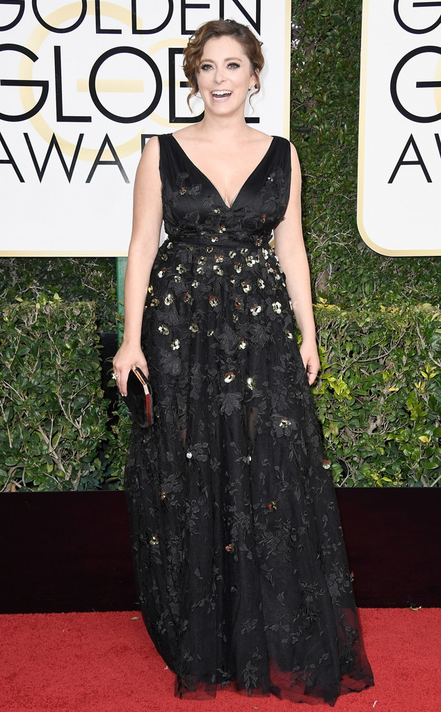 2017 Golden Globes Red Carpet Arrivals Rachel Bloom, 2017 Golden Globes, Arrivals