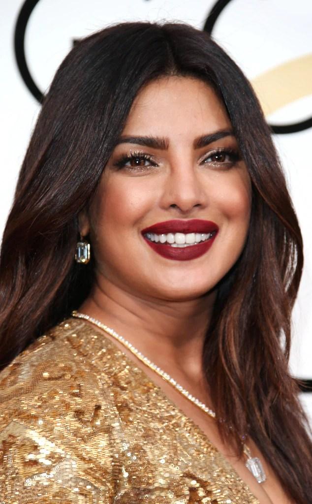 Priyanka Chopra From 2017 Golden Globes Best Beauty Looks