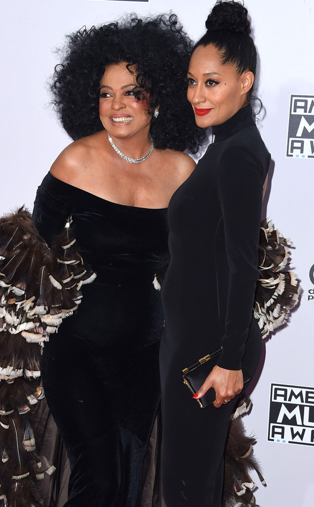 Tracee Ellis Ross Says Shes Thrilled To Honor Mom Diana