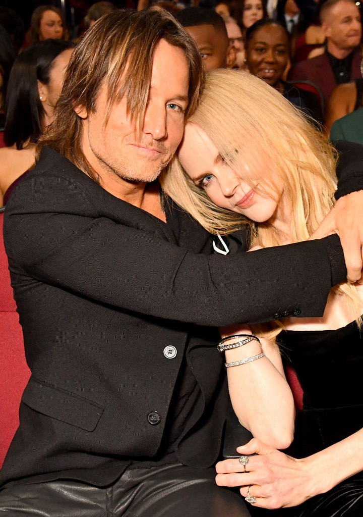 Keith Urban, Nicole Kidman, 2017 American Music Awards, AMAs