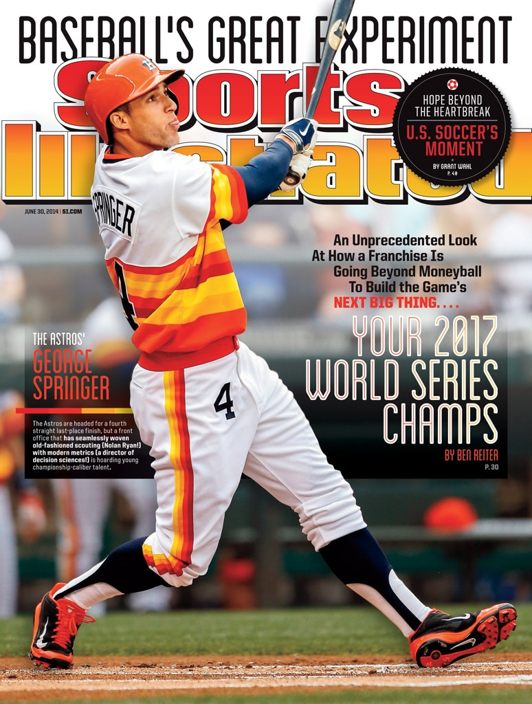 Sports Illustrated, Houston Astros, 2014, World Series 2017, Predict, Prediction, George Springer